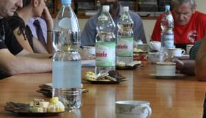 Spotkanie uczestników Pielgrzymki i członków Biegiem Radom