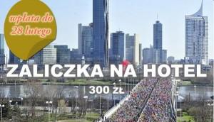 Maraton Wiedeń zaliczka na hotel na konto Biegiem Radom
