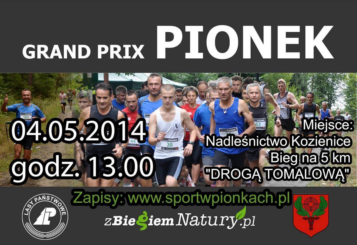 Plakat Grand Prix Pionki 4 maja 2014
