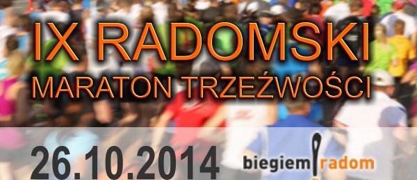 Radomski Maraton Trzeźwości już za tydzień!