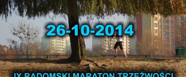 IX Maraton Trzeźwości - dodatkowe informacje